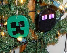 single ornament 2 sided lego minecraft