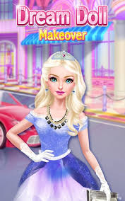 dream doll makeover girls game android apps google play