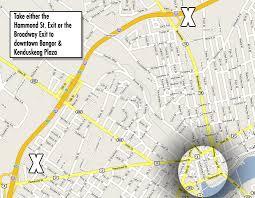 I 95 Map Kenduskeag Stream Canoe Race Stream Maps