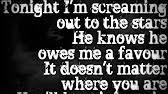 framing hanley alone in this bed lyrics youtube