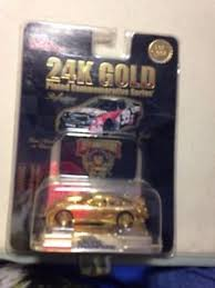 50th anniversary gold plate nascar racing chions 50th anniversary 24k gold plated 99 car 1