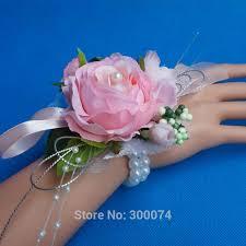 Wrist Corsage Supplies Online Shop Wedding Decoration Bridesmaid Wrist Corsage Artifical