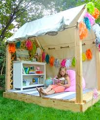 Backyard Playhouse Ideas Hello Wonderful These 12 Creative Outdoor Play Spaces Will Make