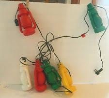Outdoor Lantern String Lights by Plastic 6 7 Lights Outdoor Lanterns U0026 Strings Ebay