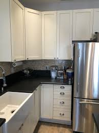 white shaker corner kitchen cabinet gorgeous white wood kitchen cabinets shaker overlay island desk office area green kitchens