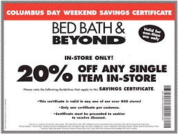 Coupon Bed Bath And Beyond 20 Off Bed Bath And Beyond Online Coupon Bed Bath And Beyond Coupon Today