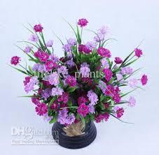 Wholesale Silk Flowers 2017 Wholesale 40stem Lilac Purple Silk Flowers Artificial Flowers