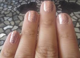 materialgurl88 notd rose gold nails