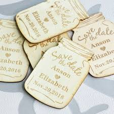 rustic save the date personalized save the date magnets custom wood save the date