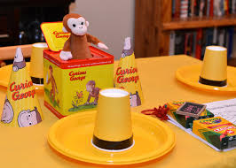 curious george birthday party curious george themed 1st birthday party project nursery