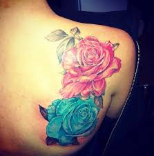 colored tattoos from the inc tattoos color