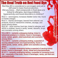 truth about red dye u0026 other problem food coloring agents often