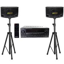 Dorm Room Sound System Acesonic Am 200 960w Bluetooth Amp U0026 Bmb Csn 300 8