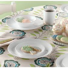 Corelle 76 Piece Dinnerware Set Amazon Com Corelle Livingware Piece Dinnerware Set Winter Frost