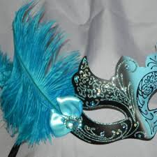 masquerade masks for prom best turquoise masquerade mask products on wanelo