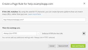 ssl how to set up your custom domain