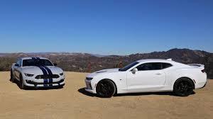 2013 ford mustang gt vs camaro ss ford shelby gt350 vs chevy camaro ss throwdown