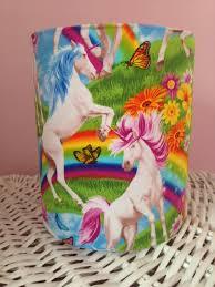 unicorn lampshade unicorn home decor rainbow lampshade
