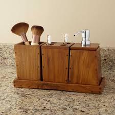 Teak Bathroom Furniture Teak 3 Piece Bathroom Set Bathroom