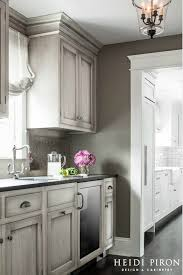 gray walls with stained kitchen cabinets pin on cottage and farmhouse