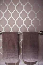 bathroom stencil ideas bathroom stencil ideas home planning ideas 2018