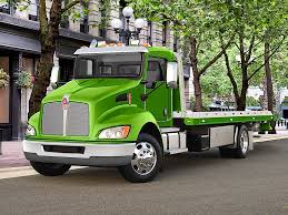 kw truck equipment kenworth truck offers narrower battery box and relocated fuel
