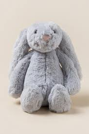 stuffed bunny grey plush bunny s