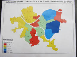 Tax Map Pittsburgh Councilman Proposes Property Tax Relief Program For