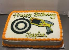 8 best cakes images on pinterest nerf cake birthday cakes and