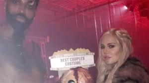 Entertainment For Halloween Party Khloe Kardashian And U0027daddy U0027 Tristan Thompson Go Full U0027game Of T