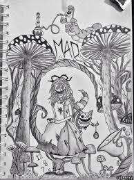 image result alice wonderland drawings u0027s