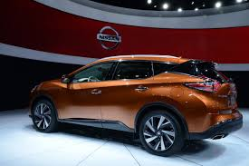 nissan murano red 2017 new 2015 nissan murano pictured and filmed at the ny auto show