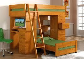 Bunk Bed With Workstation Modest Bunk Beds With Desks Desk Interior Design Bedroom Ideas