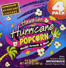 amazon com 3pk hawaiian hurricane microwave popcorn gift box