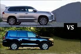 lexus 570 car 2016 2018 lexus lx 570 vs 2018 toyota land cruiser youtube