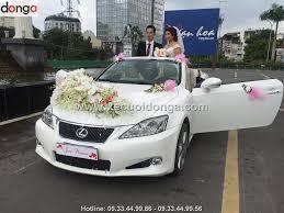 xe lexus mui tran 4 cho album hình ảnh khách hàng thuê xe cưới lexus