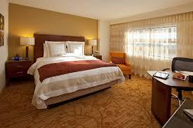 bedroom romantic warm relaxing bedroom with wide windows and