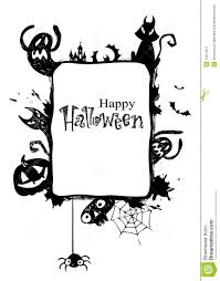 halloween frame clipart halloween frame stock image image 16434371
