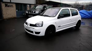 renault clio 2002 modified renault clio sport replica youtube