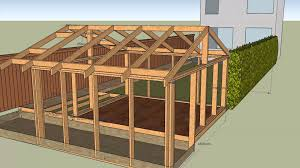 a frame roof house with garden shed v5 frame v4 deck frame v1 roof v1 youtube