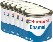 humbrol paint black ebay