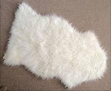 Faux White Sheepskin Rug Ikea Tejn Faux Sheepskin Super Soft Warm U0026cozy Area Rug White Ebay