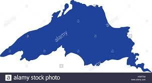 Lake Superior Map Lake Superior Silhouette Stock Vector Art U0026 Illustration Vector