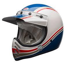 bell motocross helmet bell moto 3 classic helmet rsd malibu blue white main caschi
