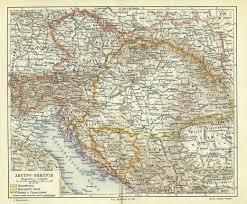 World Map Austria by Austria Map Of Austria Hungary 1900 1907