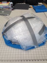 Bubble Wrap Halloween Costume Jellyfish Costume 9 Steps Pictures