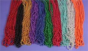 mardi gras bead bags mardi gras throw gross bags