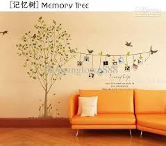 home wall new diy design home wall sticker memory tree with photo frame
