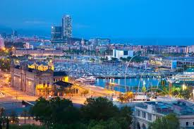 barcelona city view barcelona links