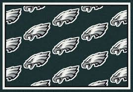Nfl Area Rugs Milliken Area Rugs Nfl Repeat Rugs 09071 Philadelphia Eagles